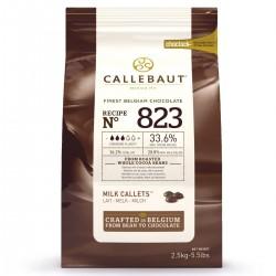 Callets de chocolat - lait - 2,5 kg