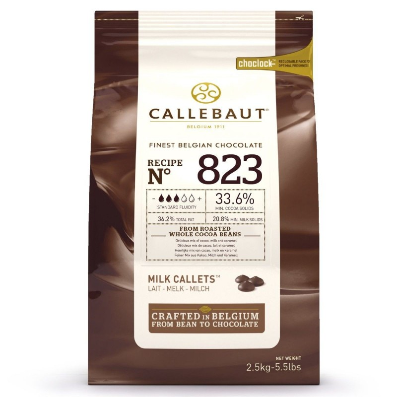 Chocolate Callets - milk chocolate 2,5 kg