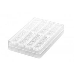 """Mold """"Goccia-B"""" for chocolates in polycarbonate"""