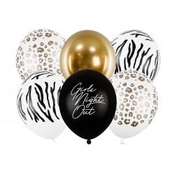 "6 ballons ""Girls Night Out"""