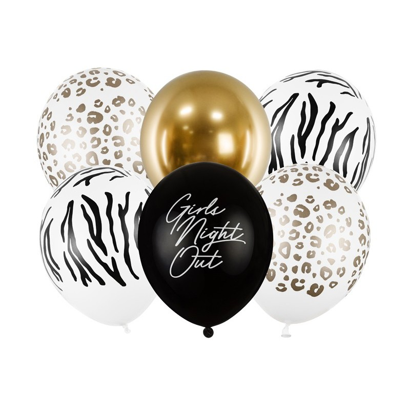 "6 balloons ""Girls Night Out"""