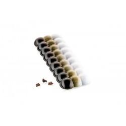 """Moule """"Bolla-T"""" pour plaques de chocolat en polycarbonate"""