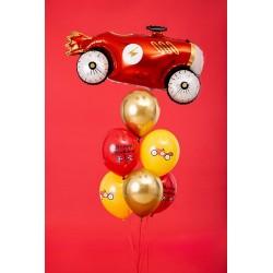 "6 ballons voiture ""Happy Birthday"""