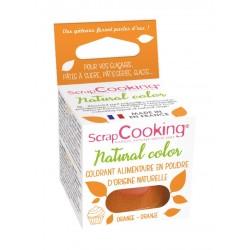 Colorant naturel en poudre - orange