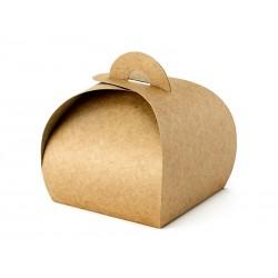 Kraft Schachtel für Süssigkeiten aus Karton - 10 St.
