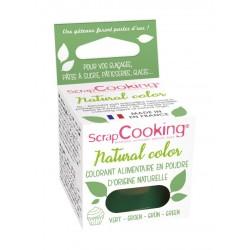 Natürliche Pulverfarbe - Grün