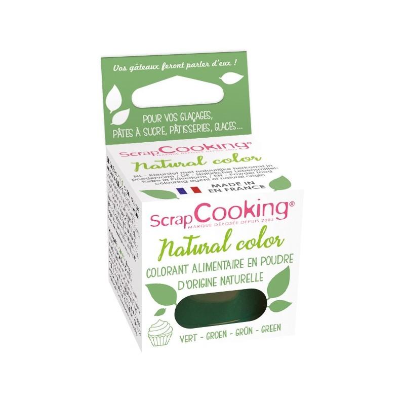Colorant naturel en poudre - vert, colorant alimentaire en poudre, colorant vert