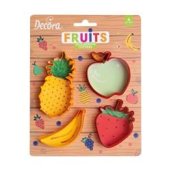 Emporte-pièces Fruits en plastique