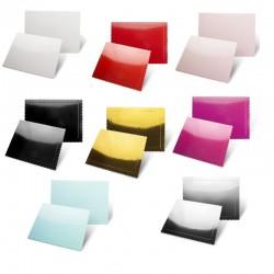Plateaux rectangulaires fin 30x25 cm en divers coloris