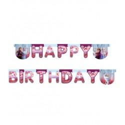 """Girlande Happy Birthday """"Eiskönigin 2"""""""