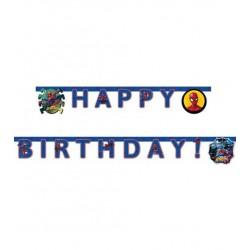 """Guirlande Happy Birthday """"Spiderman"""""""