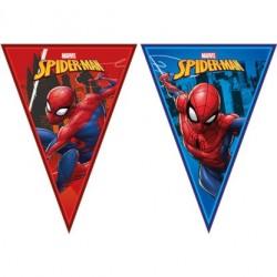 "Guirlande de drapeaux ""Spiderman"""