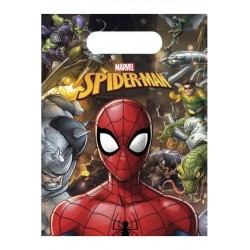 """6 sachets party """"Spiderman"""""""
