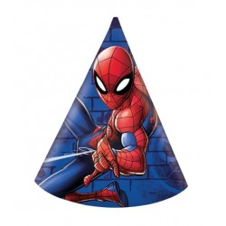 "6 hats ""Spiderman"""