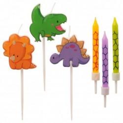 "Candles ""Dinosaur""- 15pcs"