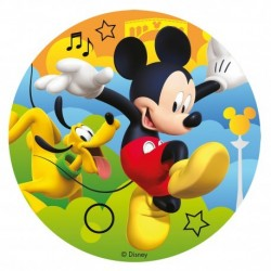 "Edible disc ""Mickey"" - 16 cm"
