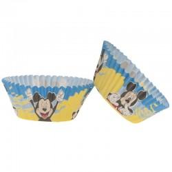 """25 Caissettes à cupcakes """"Mickey"""" en papier"""