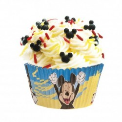"""25 Baking Cups """"Mickey"""" in paper"""