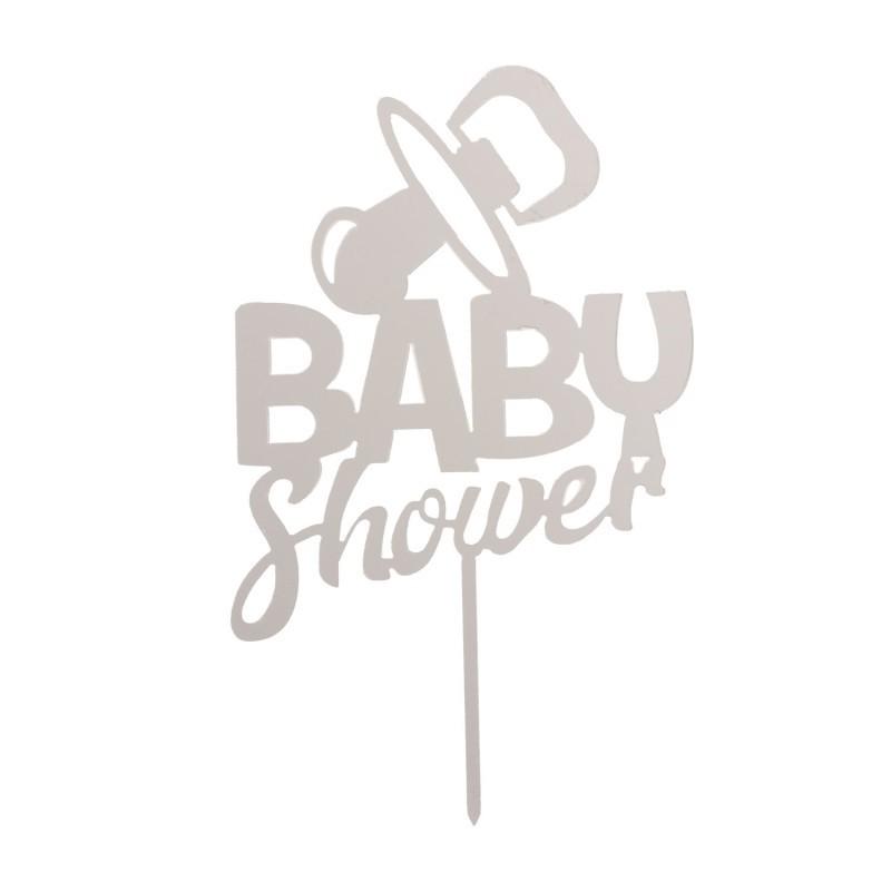Cake topper Baby Shower