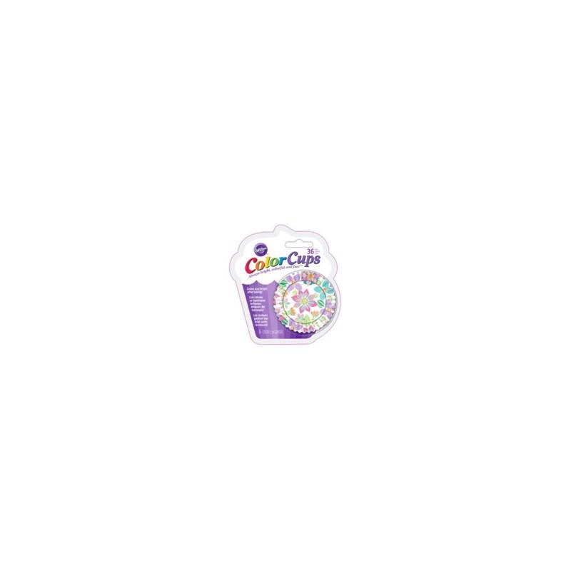 ColorCups Caissette à cupcakes - Délices artistiques - pk/36