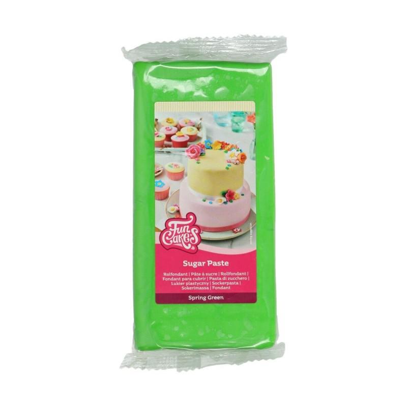 """Pâte à sucre """"Spring Green"""" -1kg"""