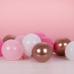 """Pack of 40 Balloons """"pink"""""""