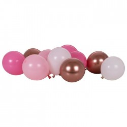 Paquet de 40 ballons Roses
