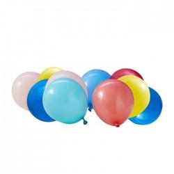40 Luftballons Packung mehrfarbigen
