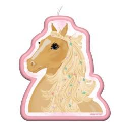 Kerze Pferd