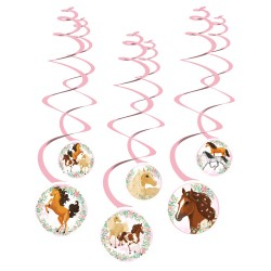 6 Spiral garlands Horse