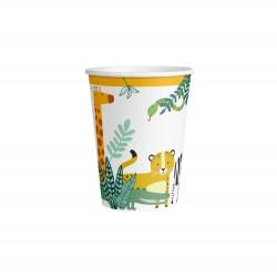 8 cups get wild in paper