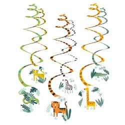 6 spirales décoratives get wild