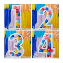 Frames for balloons Number