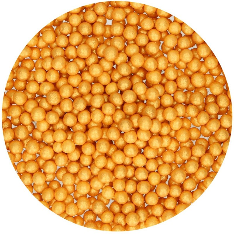 Soft Pearls Gold aus Zucker