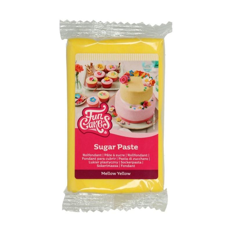 """Pâte à Sucre """"Mellow Yellow"""" - 250 g"""