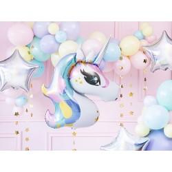 """Ballon 3D """"Licorne"""" en aluminium"""