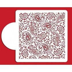 motifs henné cachemire - 15x15cm
