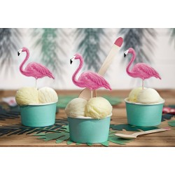 Cake Topper Pink Flamingo