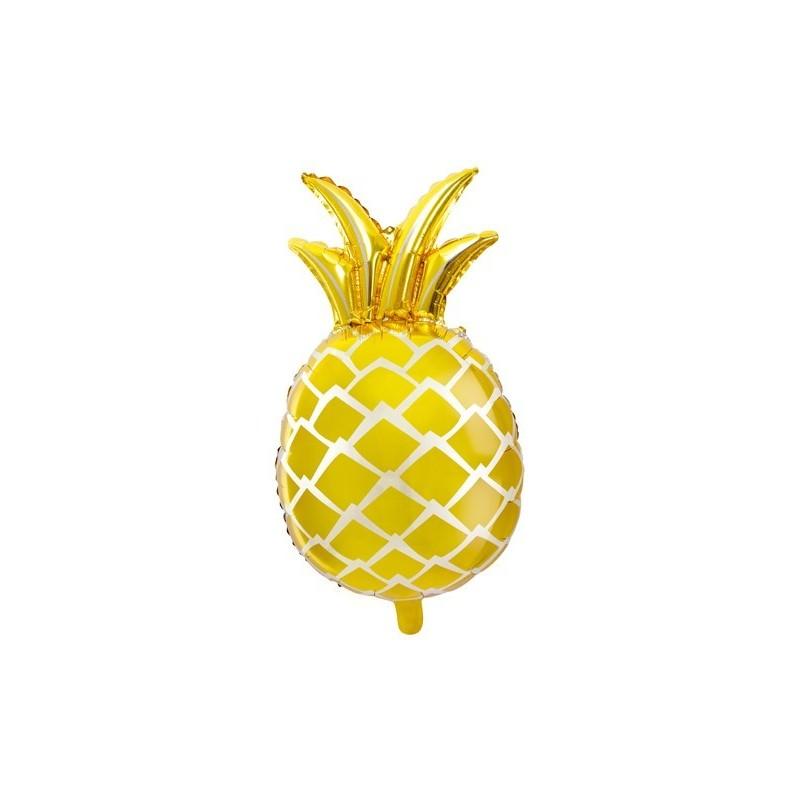 3D Balloon Pineapple in Aluminium