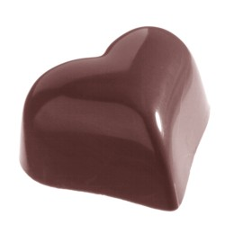 Moule à Chocolats en Polycarbonate - Petit Coeur