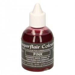 Airbrush-Farbe-Rosa
