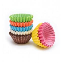 Mini Baking Cups Multicolored