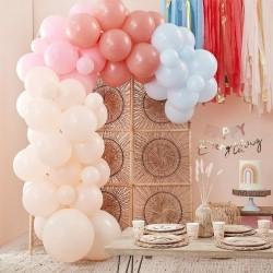 Balloon arch Pastel