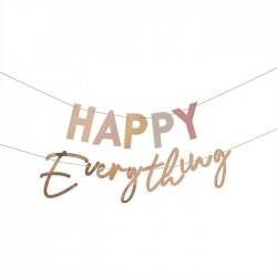 Girlande Happy Everything