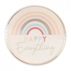Plates Happy Everything