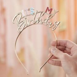 Stirnband It's my Birthday