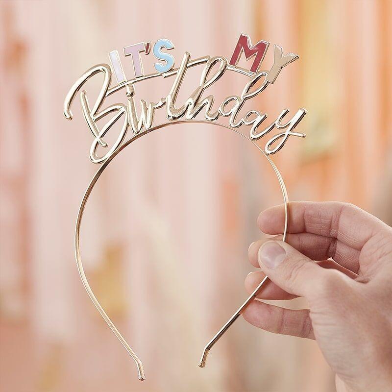 Serre-Tête It's my Birthday