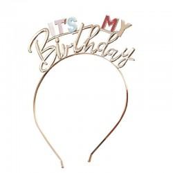 Headband It'y my Birthday