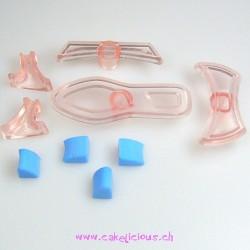 """""""Chaussure Miniature pour dame"""" Shoe set/9"""