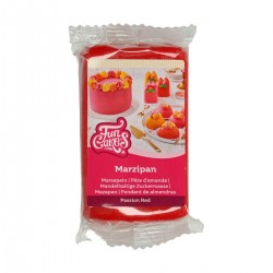 Marzipan Passion Red - Leidenschaft rot - 250g